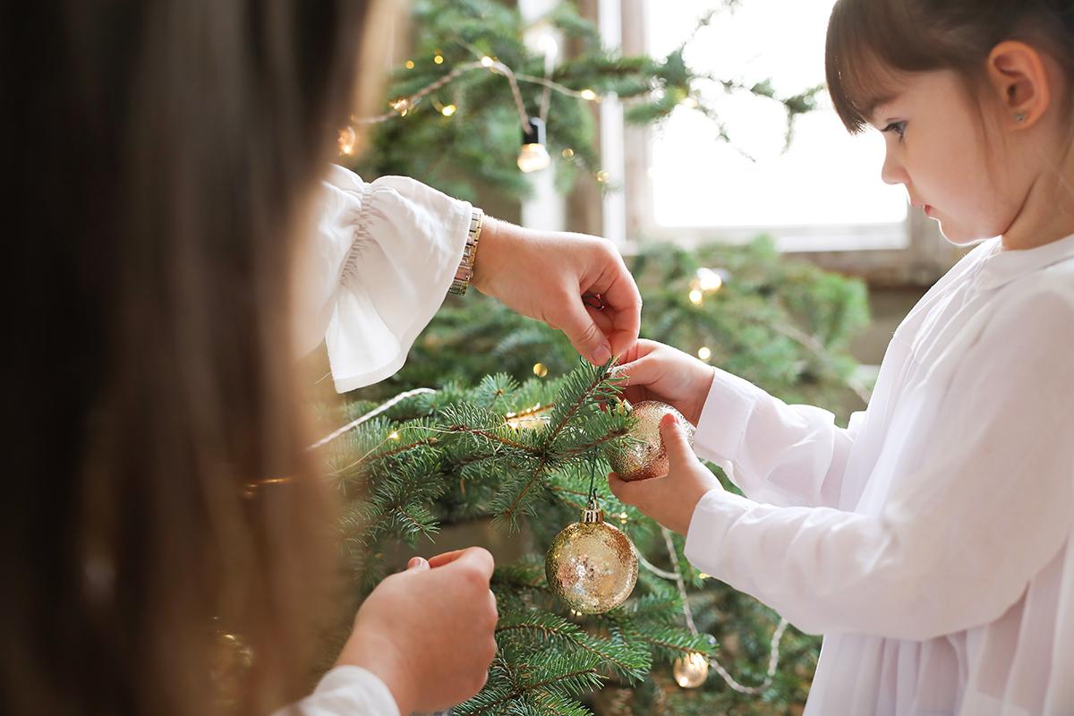 toque navideño hogar