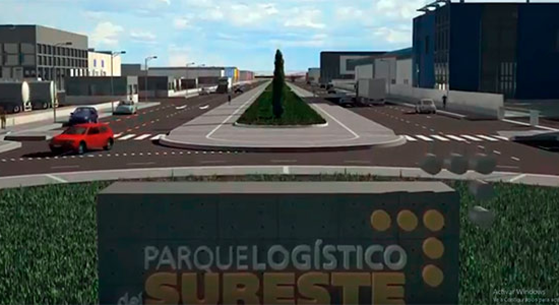 Pavasal, adjudicataria de las obras de urbanización de la primera fase del Parque Logístico del Sureste